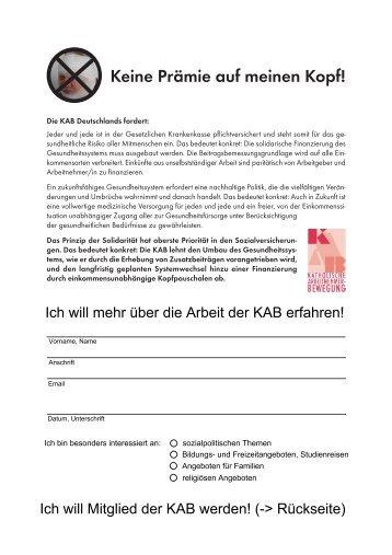 Download Infoblatt - KAB