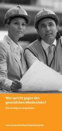 Was spricht gegen den gesetzlichen Mindestlohn? - Einblick-archiv ...