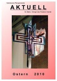 Osterpfarrbrief 2010 laden - Die Pfarrei St.Maria - Königin des ...