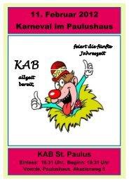 Ahnenforschung zum 10.08.2008 - KAB Voerde