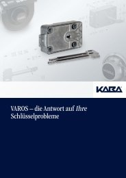 VAROS Produktbroschüre - Kaba Mauer GmbH