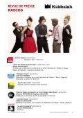 telecharger dossier de presse en pdf - kabbalah music - Page 6