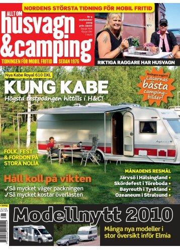 Högsta poängen hittills i Husvagn och Camping - Kabe