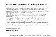 Instr.bok 2003 XL (DE) - Kabe