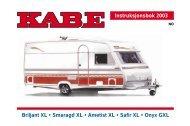 Instr.bok 2003 XL (NO) - Kabe