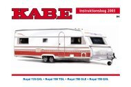 Instr.bok 2003 Royal (DK) - Kabe