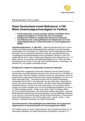 PDF, 38 KB - Kabel Deutschland