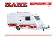 Instruktionsbok 2009 - Kabe