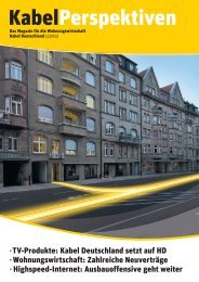 Download KabelPerspektiven, Ausgabe 1/2012 (PDF, 6,7MB)