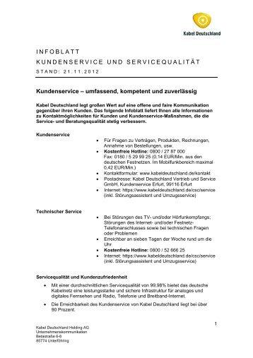 PDF, 25 KB - Kabel Deutschland