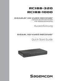 Kurzeinführung Digitaler HD-Video-Recorder - Kabel Deutschland