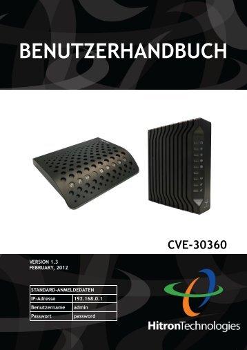 BENUTZERHANDBUCH - Kabel Deutschland