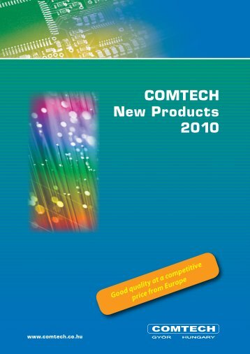 COMTECH New Products 2010 - KABELKON