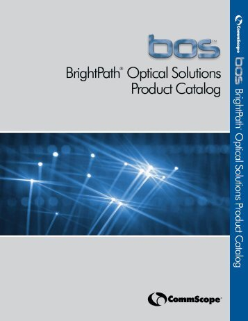 BrightPath® Optical Solutions Product Catalog ... - KABELKON