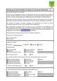ISO 9000 ff. - Formblatt