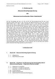 2. Änderung der Abwasserbeseitigungssatzung des ...