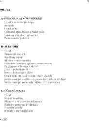 Etický kodex přijatý KA ČR (účinný od 1. 1. 2011)