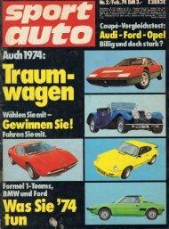Test Auspuffanlagen Sport Auto 02|74