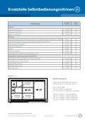 Ersatzteile Selbstbedienungsvitrinen GASTRONORM GN - Seite 2