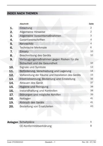 Nordcap Salatbar Bedienungsanleitung - Kälte Berlin
