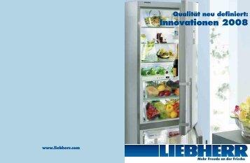 Innovationen 2008 - KÄLTE KLIMA LANGER