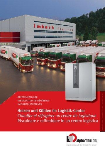 Heizen und Kühlen im Logistik-Center Chauffer et réfrigérer un ...