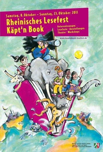 Programmheft 2011 - PDF download - Käpt'n Book Lesefest