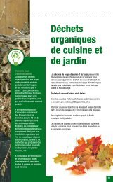 Déchets organiques de cuisine et de jardin - Käerjeng