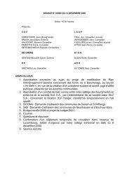 1. Approbation provisoire au sujet du projet de ... - Kaerjeng