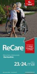Rahmenprogramm ReCare - Career Moves