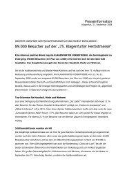 """89.000 Besucher auf der """"75. Klagenfurter ... - Kärntner Messen"""
