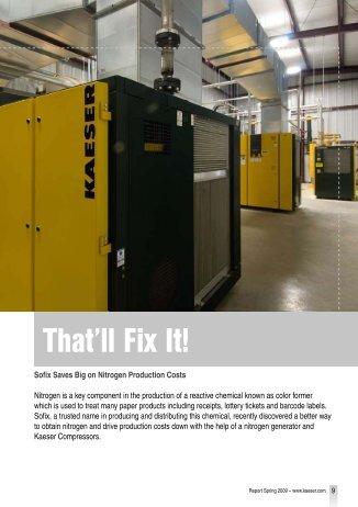 That'll Fix It! - Kaeser Compressors