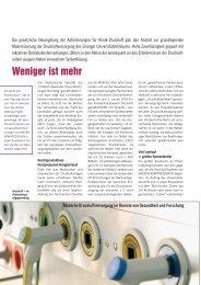Weniger ist mehr - Kaeser Kompressoren GmbH