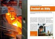 Druckluft als Utility - KAESER KOMPRESSOREN GmbH