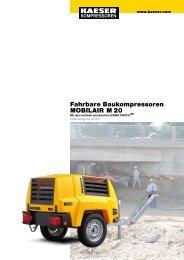 M 20 2.0 m³/min 71 cfm - KAESER KOMPRESSOREN GmbH