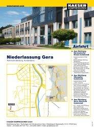 Niederlassung Gera - Kaeser Kompressoren GmbH
