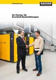 Ihr Partner für Druckluft - KAESER KOMPRESSOREN GmbH