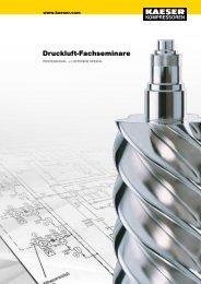 Druckluftseminar - KAESER KOMPRESSOREN GmbH