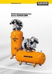 Serie EUROCOMP - KAESER KOMPRESSOREN GmbH