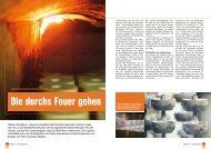 Die durchs Feuer gehen - KAESER KOMPRESSOREN GmbH