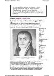 Ferdinand Hasenklever, Jacob Heinrich Schönhals und Schwester ...