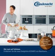 Entdecken Sie die neue Designlinie KOSMOS von Bauknecht.