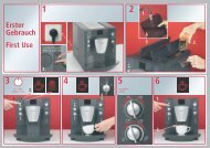 Erster Gebrauch First Use - Kaffeevollautomaten.org