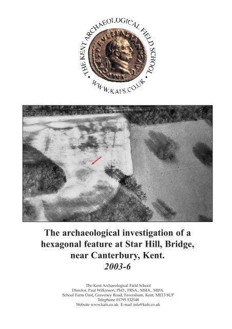 Bridge Report/final - Kent Archaeological Field School