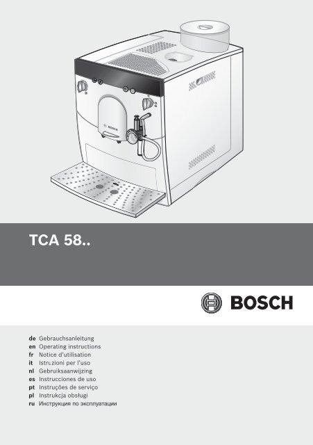 Tca 58 Bosch