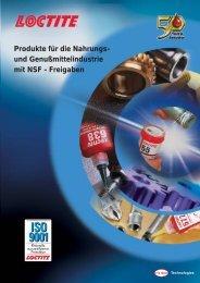 Produkte mit Lebensmittelfreigabe (PDF) - Kahmann und Ellerbrock