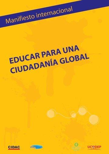 EDUCAR PARA UNA CIUDADANÍA GLOBAL