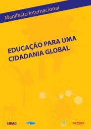 EDUCAÇÃO PARA UMA CIDADANIA GLOBAL