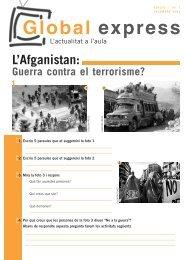 L'Afganistan: Guerra contra el terrorisme? Global express - Kaidara