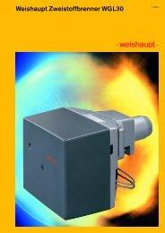 Weishaupt Zweistoffbrenner WGL30